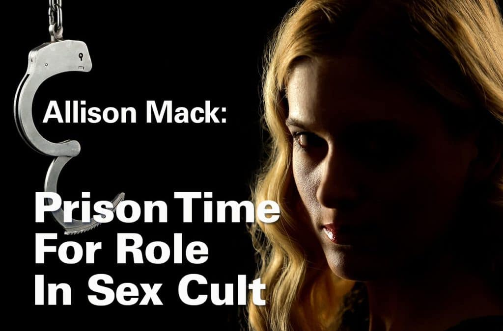 Allison Mack To Serve Time for Role in Sex Cult