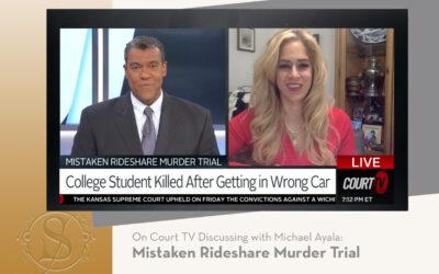 Megerditchian Discusses Mistaken Rideshare Murder Trial